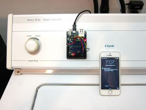 Connected Laundry with Arduino