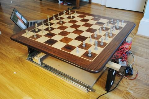 Build an Arduino Powered Chess Robot