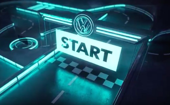 VW builds an incredible Internet-connected RC track