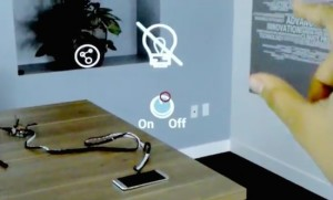 Control with your smart devices by staring and gesturing