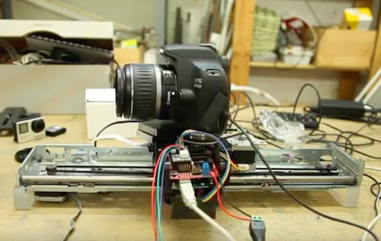 Turn your printer into a MOCO slider with Arduino