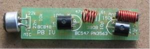 Pen FM Transmitter Bug
