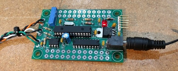 Test board from the Living Computer Museum to drive the Alto's monitor.