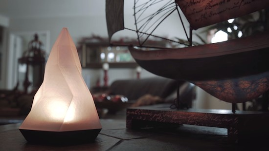 Peak is a smart lamp that helps you form better habits