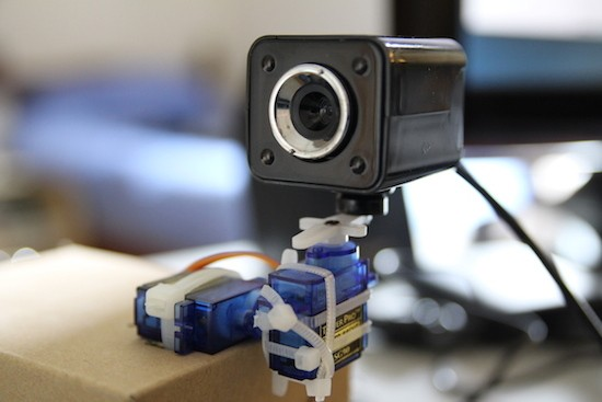 Build a pan and tilt camera with Raspberry Pi + Arduino
