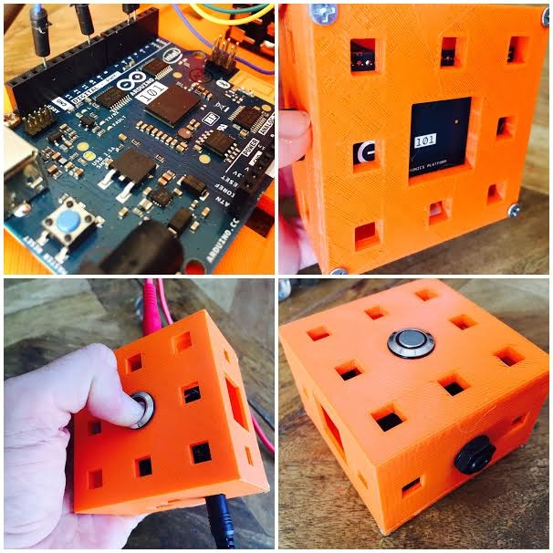 Experimental sound generating boxes for Makers, by Makers 5
