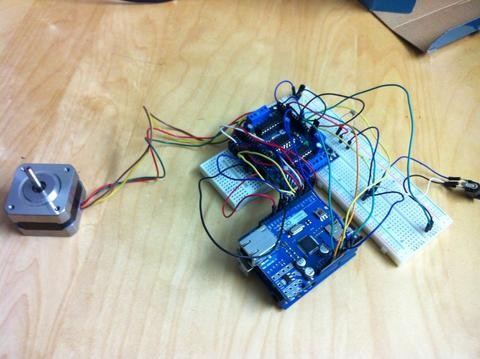 Automated Blinds with Arduino