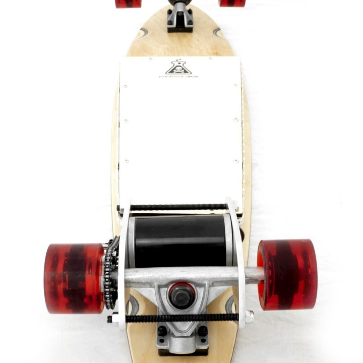 Enjoy the Ride with Printrbot's 3D Printed and Programmed OpenSkate Long Board