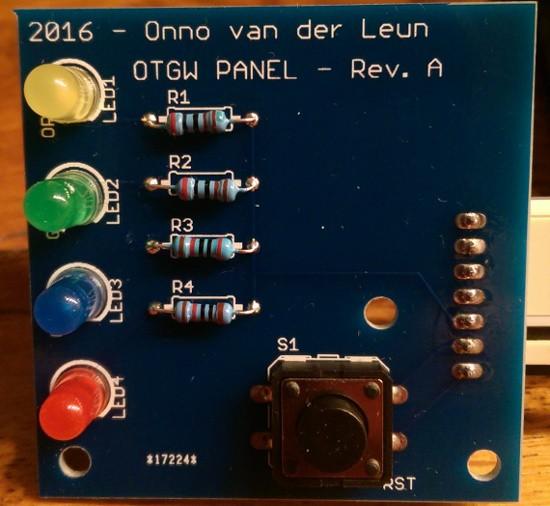 OTGW panel