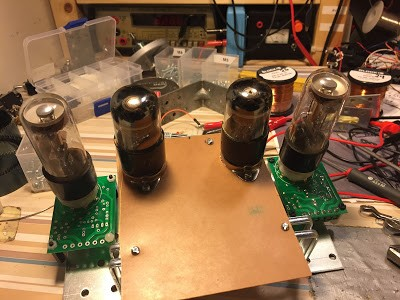 Dekatron tubes controlled by arduino