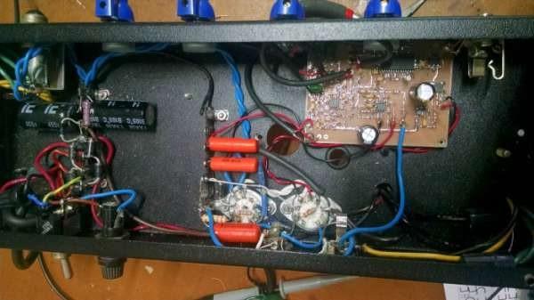 25 watt hybrid EL84 tube amp
