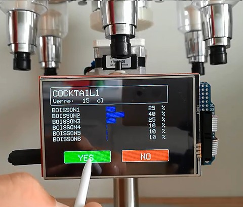Arduino Cocktail Maker