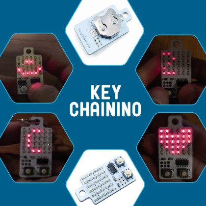 Keychainino: a programmable, playful Key Ring