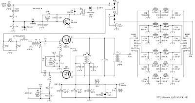WA2EBY IRF510 amplifier