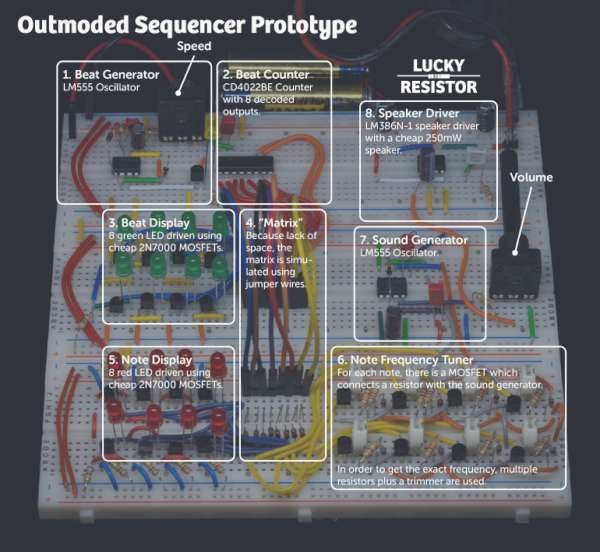 Outmoded Sequencer project