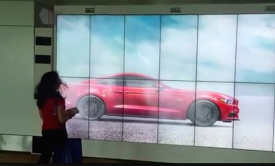 Ford billboard creates an immersive experience for travelers