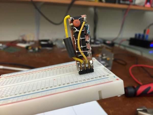 Breadboard line driver module