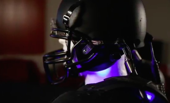 Teenage student creates a wearable system to reduce concussions
