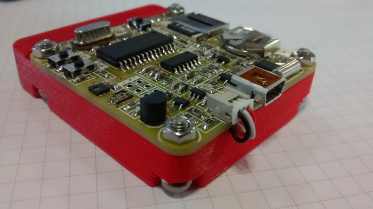 Portable Datalogger for Temperature, Humidity & Ambient Light