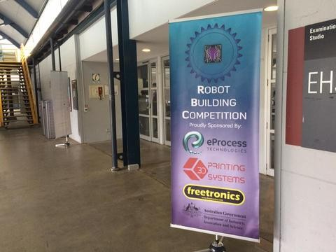 Monash University Robot Building Competition