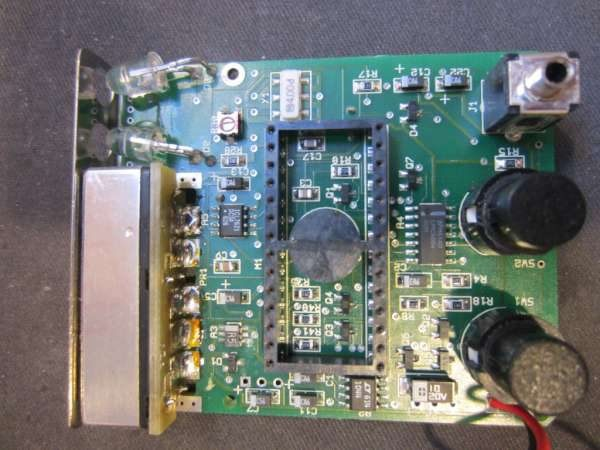 Teardown of a Static fieldmeter