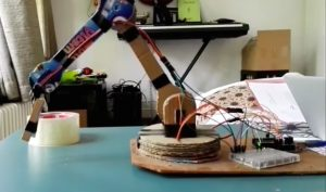 Build your own robotic arm out of cardboard