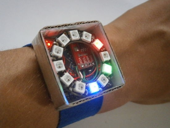 PIXIE is an Arduino-based NeoPixel watch