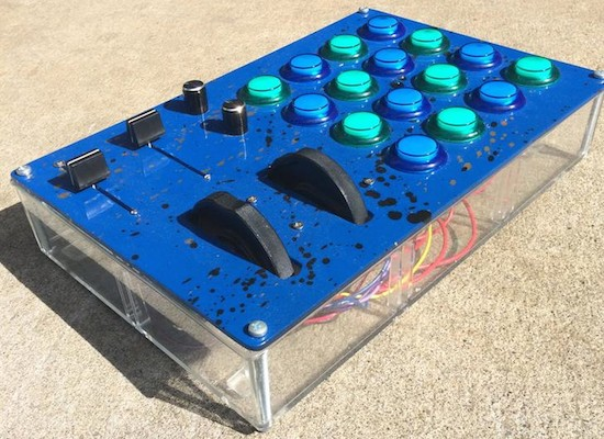 Building a sweet plastic MIDI controller