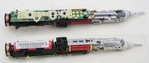 Sonicare toothbrush teardown: microcontroller, H bridge, and inductive charging