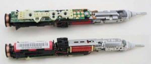 Sonicare toothbrush teardown: microcontroller, H bridge, and inductive charging