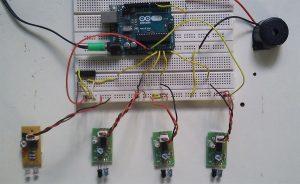 Keyless piano project using Arduino uno