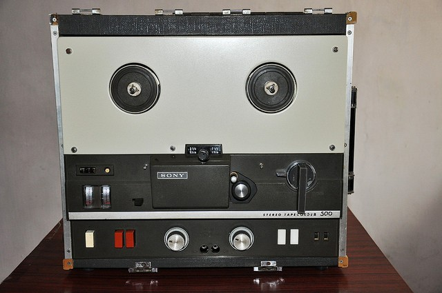 Sony TC-500 reel to reel player restoration