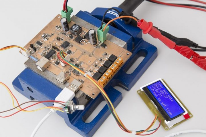 MPPT Solar Charger Testing
