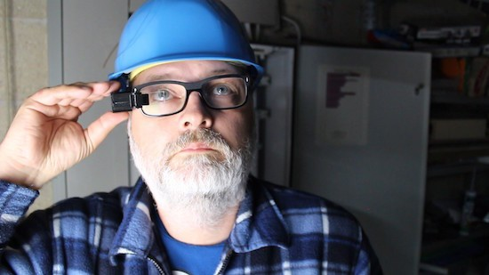A multimeter heads-up display with Arduino glasses