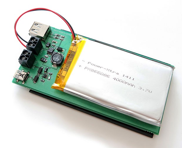 DIY USB 5V Solar Power Pack