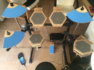 Build your own electronic drum kit using an Arduino Mega