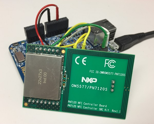 Tutorial: RFID tags with the NXP NFC controller PN7120 and Eclipse
