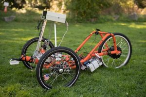 University of Washington develops a self-driving tricycle