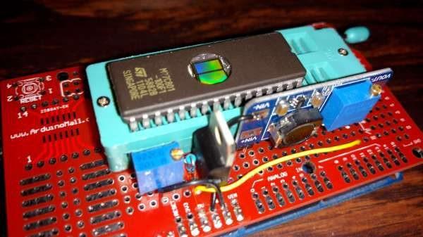 Arduino Mega EPROM programmer