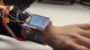 Smartwatch prototype turns your wrist into a joystick