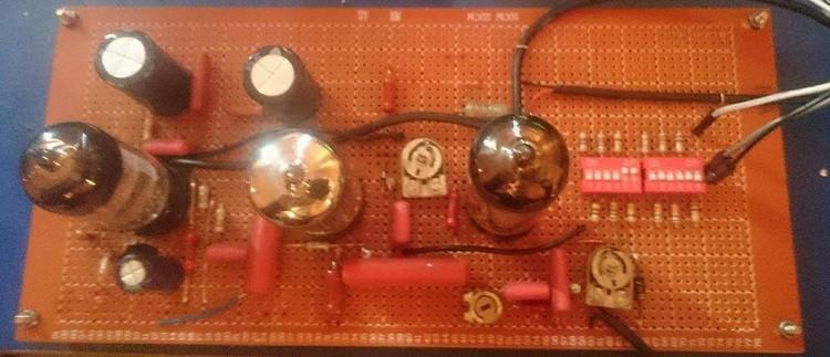Classic Vintage Vacuum Tube Oscillator