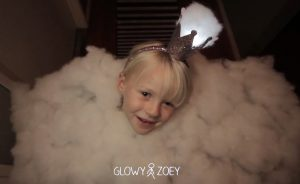 Dad builds a 'Princess Cumulus' costume for his daughter