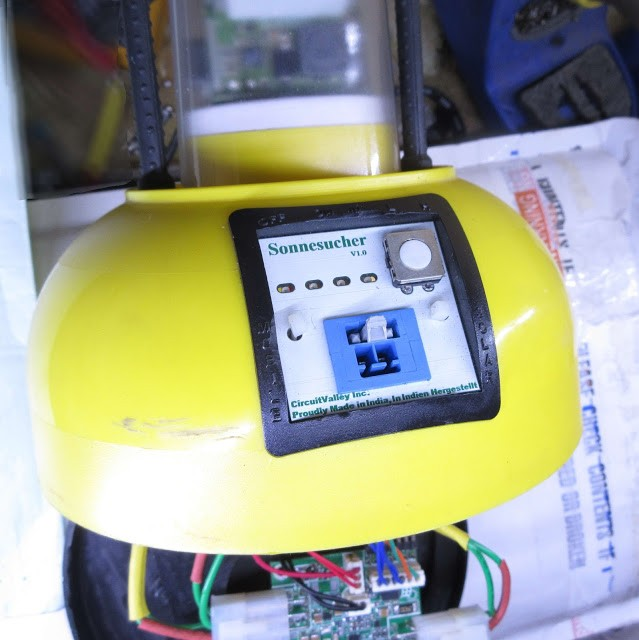 Solar LED Light ,20000mah Li-ion battery , 24V solar panel with MPPT charge Controller 15
