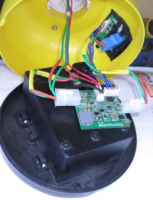 Solar LED Light ,20000mah Li-ion battery , 24V solar panel with MPPT charge Controller 13