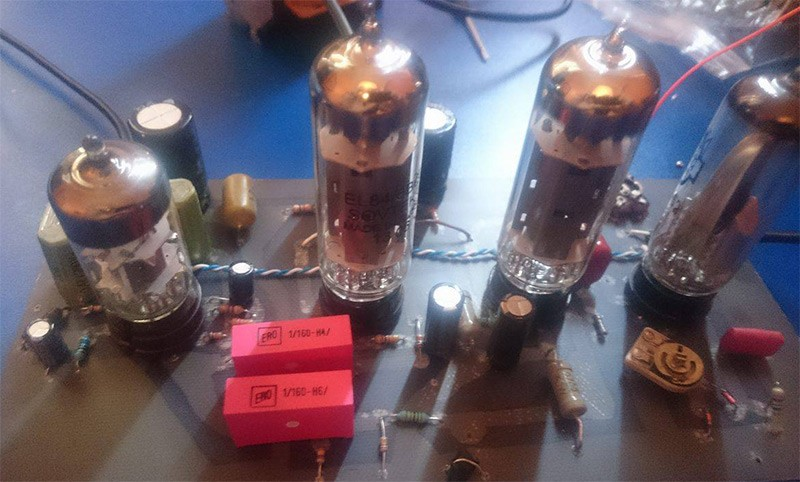 Design of push pull amplifier using Vacuum tube