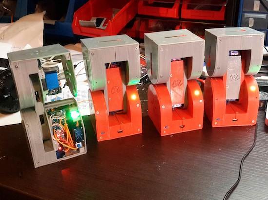 Dtto is a 3D-printed, self-configurable modular robot 3
