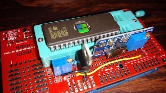 Burn EPROMs with an Arduino Mega