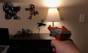Control a lamp with an NES Zapper and Arduino