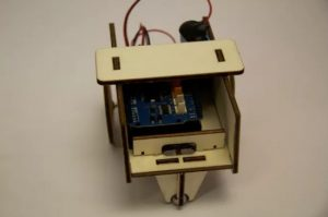 Make a WiFi-controlled mini robot using the new MKR2UNO