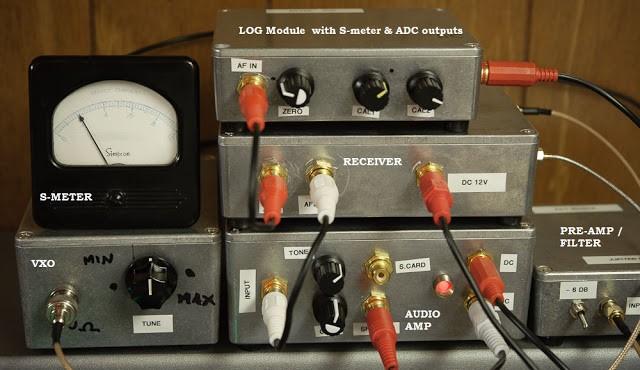 Log Amplifer — Jupiter Modular Receiver   Electronics Infoline